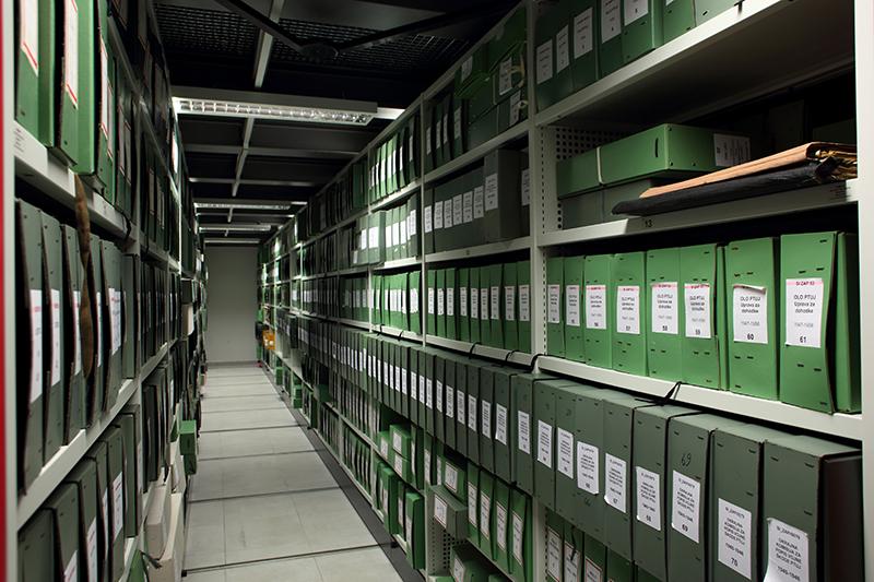 Slika novih arhivskih skladišč