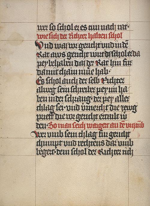 49. člen statuta iz leta 1376