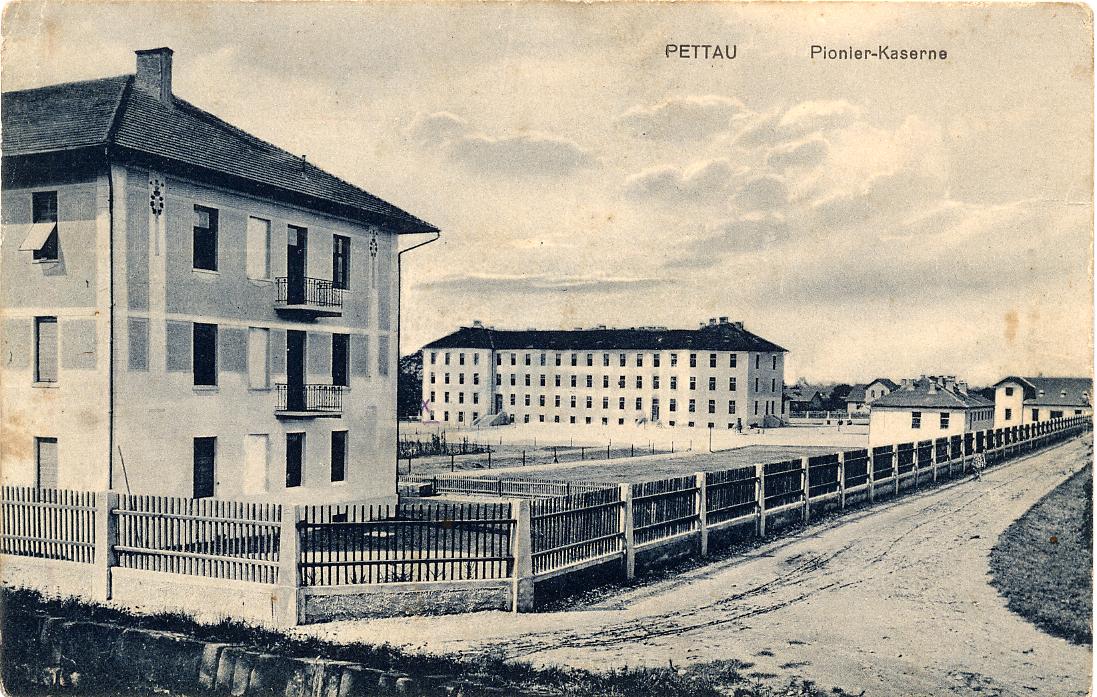 Pionirska vojašnica na Vičavi, zgrajena med letoma 1903 in 1905