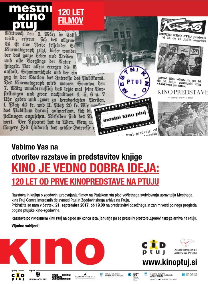 Mestni kino Ptuj - 120 let filmov