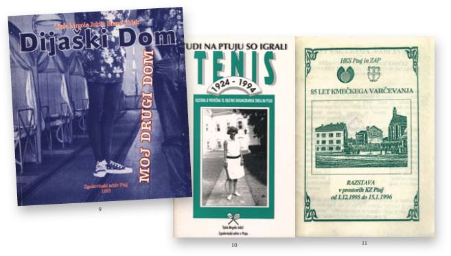 Naslovnice izdanih publikacij Zgodovinskega arhiva na Ptuju